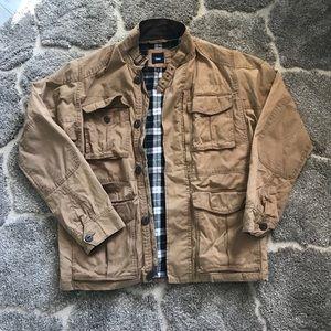 MENS khaki gap jacket